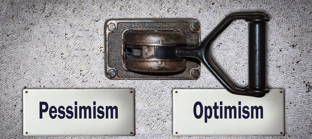 Optimism Pessimism Mindset